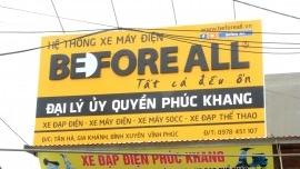 Đại lý ủy quyền Phúc Khang  - XE ĐIỆN BEFORE ALL