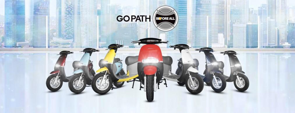Xe Điện GoPath - Trọn Đam Mê, Đa Sắc Màu - XE ĐIỆN BEFORE ALL