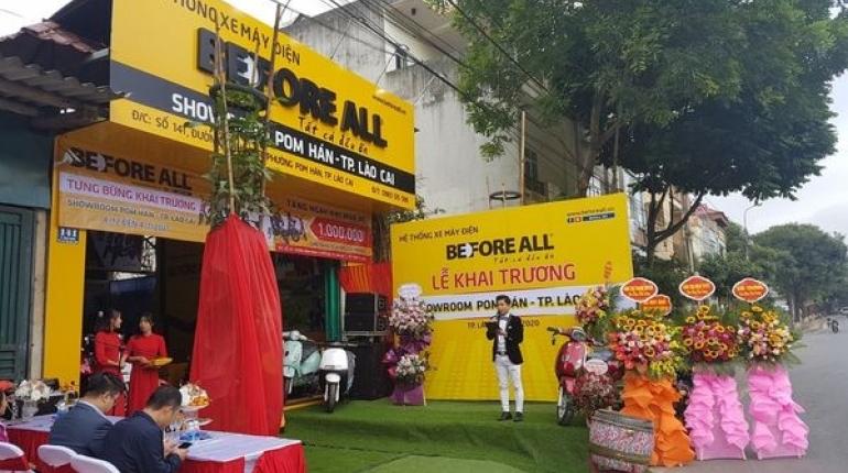 Showroom Pom Hán - Before All về Lào Cai! - XE ĐIỆN BEFORE ALL