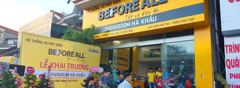 Showroom Before All Hà Khẩu - Điểm chạm vùng biển - XE ĐIỆN BEFORE ALL
