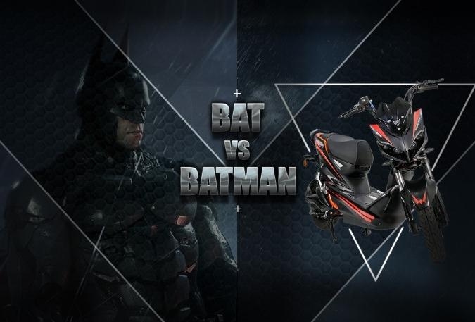Batman và siêu phẩm BAT giống nhau ở điểm nào? - XE ĐIỆN BEFORE ALL