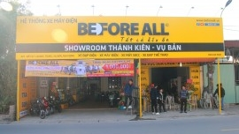 Showroom Thành Kiên - Vụ Bản - ::.XE ĐIỆN BEFORE ALL.::