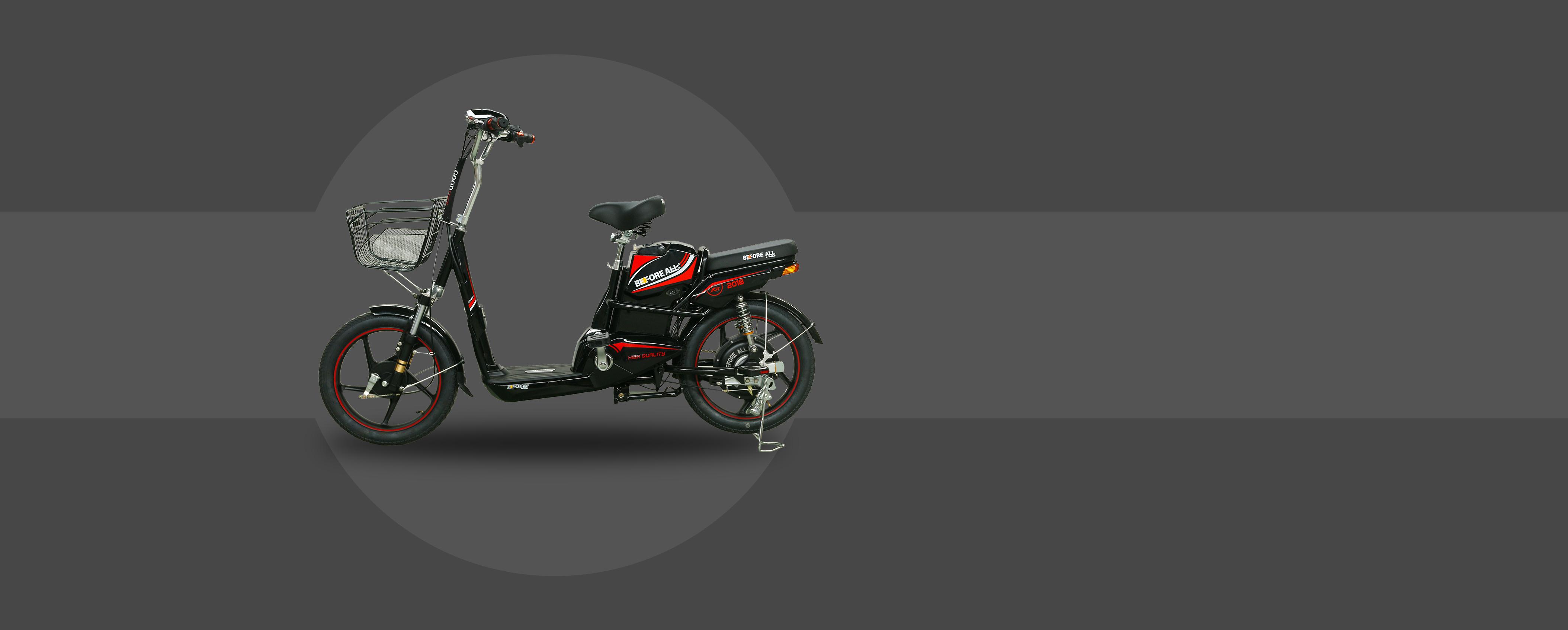 Xe đạp điện K2 Model 2018 - Before All - XE ĐIỆN BEFORE ALL