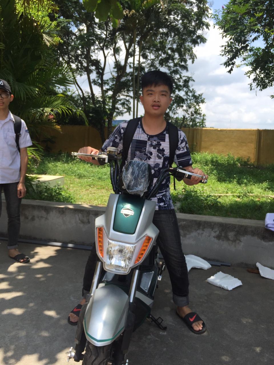 Đại lý Hoa Nghiêm - Chương trình An toàn giao thông - XE ĐIỆN BEFORE ALL