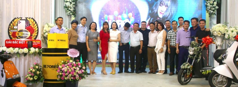 Mừng sinh nhật công ty và Bốc thăm Lucky New Year - XE ĐIỆN BEFORE ALL