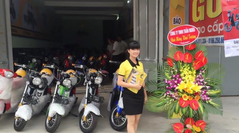 Khai trương đại lý Chinh Lý - Thái Bình - XE ĐIỆN BEFORE ALL