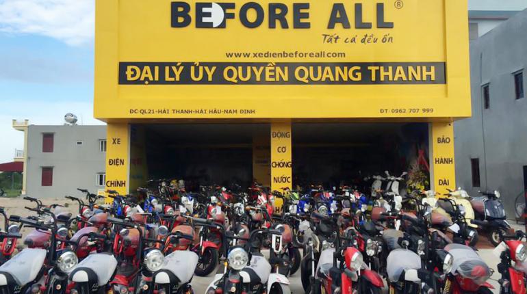 Khai trương xe điện Quang Thanh số 7 - Nam Định - XE ĐIỆN BEFORE ALL