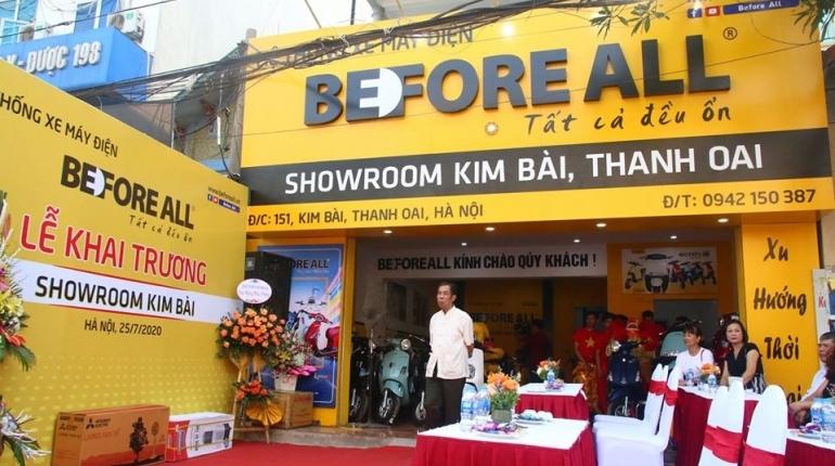 Showroom Before All Kim Bài, tọa độ vàng, ngàn hân hoan - XE ĐIỆN BEFORE ALL