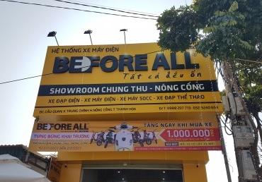 KHAI TRƯƠNG SHOWROOM CHUNG THU - NÔNG CỐNG - XE ĐIỆN BEFORE ALL