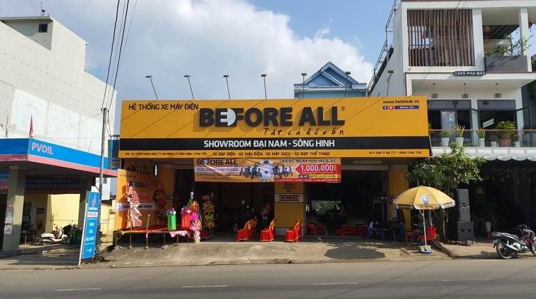 SHOWROOM ĐẠI NAM - SÔNG HINH - XE ĐIỆN BEFORE ALL