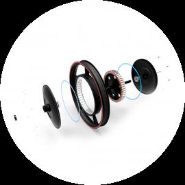 Động cơ thế hệ mới, công nghệ Fit-Eyelids
