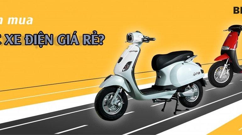 Xe máy điện, đạp điện cũ, giá rẻ. Nên mua hay không? - XE ĐIỆN BEFORE ALL