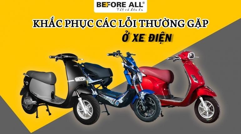3 lỗi thường gặp ở xe đạp điện và cách khắc phục - XE ĐIỆN BEFORE ALL